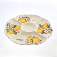 Менажница NUOVA CER Лимоны 34,5см