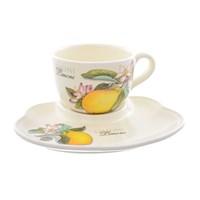 Набор чашка с блюдцем NUOVA CER Лимоны 2 предмета
