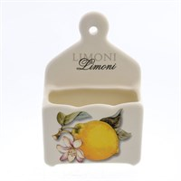Подставка для спичек NUOVA CER Лимоны 8см