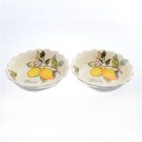 Тарелка глубокая NUOVA CER Лимоны 20,5см(2 шт)
