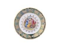Набор тарелок Carlsbad Фредерика Мадонна Зеленая 19см (6 шт)