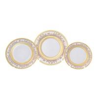 Набор тарелок Falkenporzellan Cream Gold 18 предметов