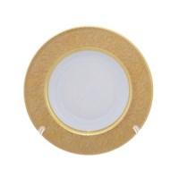 Набор тарелок глубокие Falkenporzellan Diamond Full Gold 22см(6 шт)