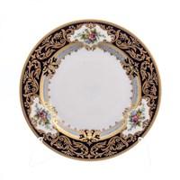 Набор тарелок Falkenporzellan Opal cobalt gold 17 см (6 шт)