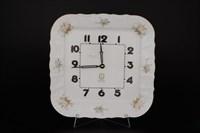 Часы квадратные Bernadotte Зеленый цветок 27см