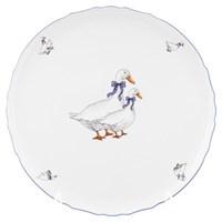 Тарелка для пици Bernadotte Гуси 32мл