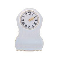 Часы каминные Bernadotte Белый узор