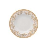 Набор глубоких тарелок Falkenporzellan Constanza cream - Sophie Gold 22 см(6 шт)