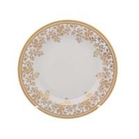 Набор тарелок Falkenporzellan Constanza cream - Sophie Gold 21 см(6 шт)