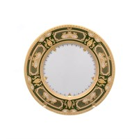 Набор тарелок Falkenporzellan  Donna Green gold 23 см (6 шт)