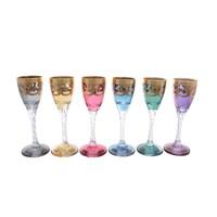 Набор рюмок для водки Art Decor Veneziano Colors 60мл