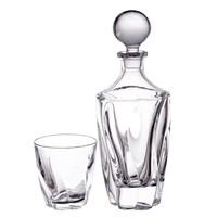Набор для виски Crystalite Bohemia Barley twist 7 предметов