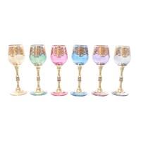 Набор рюмок для водки Art Decor Jewel Color (6 шт)110мл