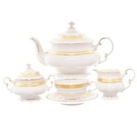 Чайный сервиз Leander Соната Матовая полоса 6 персон 15 предметов