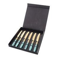 Набор столовых ножей Domus Design France Gold (6 шт)