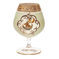 Набор бокалов для бренди Охота зеленая 250мл(6 шт)