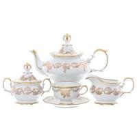 Чайный сервиз Queen's Crown на 6 персон 15 предметов