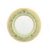 Набор тарелок Falkenporzellan Imperia Seladon Gold 27см(6 шт)
