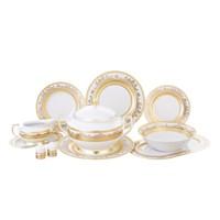 Столовый сервиз Falkenporzellan White Gold 6 персон 27 предметов