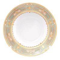 Набор глубоких тарелок Falkenporzellan Donna Seladon gold 22см (6 шт)