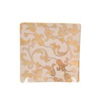 Набор розеток Falkenporzellan Tosca Creme Gold 12 см (6 шт) квадратные