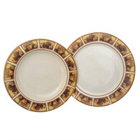 Набор тарелок из 2-х шт LCS Натюрморт (глубокая 24 см., подстановочная 25 см)
