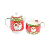 Заварочный чайник с кружкой Christmas time Royal Classics