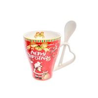 Набор Christmas time 2 предмета (кружка + ложка) Royal Classics