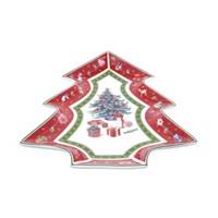 Блюдо Repast Christmas world Bordo 26*21 см