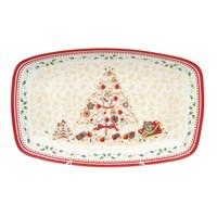 Блюдо Repast Christmas world Multi 30*19 см