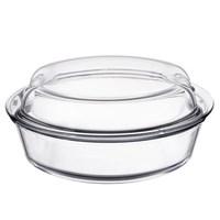 Кастрюля 2,5 л Simax Exclusive с 2-мя крышками (жаропрочное стекло и пластик)