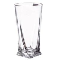 Набор стаканов для воды Crystalite Bohemia Quadro 350мл (6 шт)
