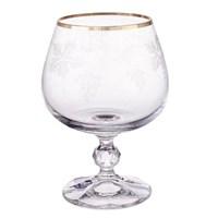 Набор бокалов для бренди Crystalex Bohemia V-D 250 мл (6 шт)
