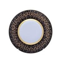 Набор тарелок 22 см RIALTO Black Gold (6 шт)