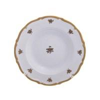 Набор тарелок глубоких Queen's Crown Золотая роза 23 см(6 шт)