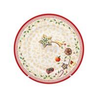 Тарелка Repast Christmas world Multi диаметр 21 см