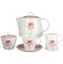 Чайный сервиз на 6 персон 17 предметов Thun Том лотос