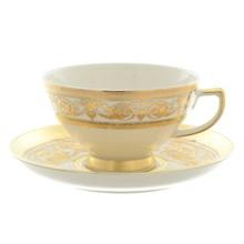 Чайная пара Falkenporzellan Imperial Cream Gold 220 мл (1 пара)
