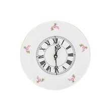 Часы настенные кварцевые Dubi Цветочный мотив 24 см