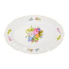Блюдо овальное Bernadotte Весенние цветы 36см