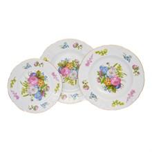 Набор тарелок Bernadotte Весенние цветы 18 предметов