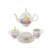 Чайный сервиз Bernadotte Весенние цветы 6 персон 17 предметов
