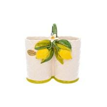 Подставка под столовые приборы Orgia Лимоны 15*18 см