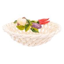 Блюдо круглое Orgia Овощи 27 см