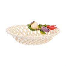 Блюдо овальное Orgia Овощи 30*21 см