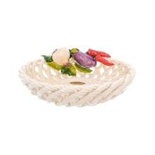 Блюдо круглое Orgia Овощи 25 см