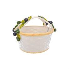 Корзина круглая Orgia Оливки 33*28 см