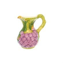 Кувшин Orgia Виноград фиолетовый 2 л, высота 25 см