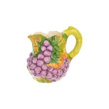 Кувшин Orgia Виноград фиолетовый 1,5 л, высота 20 см