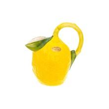 Кувшин Orgia Лимон 2 л, высота 25 см